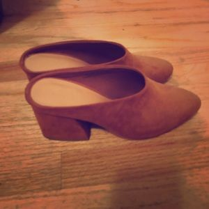 Size 6 mules never worn!